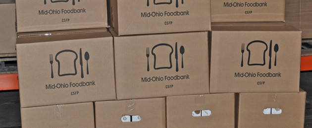 Completed Mid-Ohio Food Care Packages