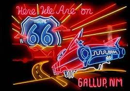 Gallup neon sign