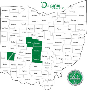 Image: Map of Ohio Counties with Services