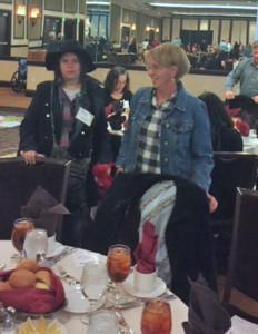 Image: Family Caregiver Bonnie and Raina Arriving