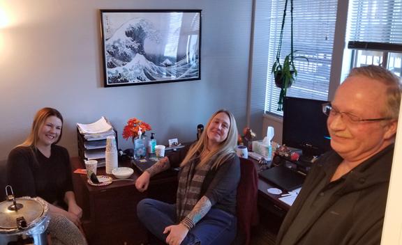Image of Aurora Staff Bruce, Lisa, Elizabeth