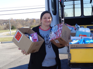 Dungarvin Kentucky Giving Back Hygiene Products
