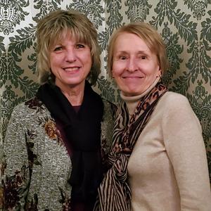 image of long-term employees celebration Shirley Pullar with Lori Kress