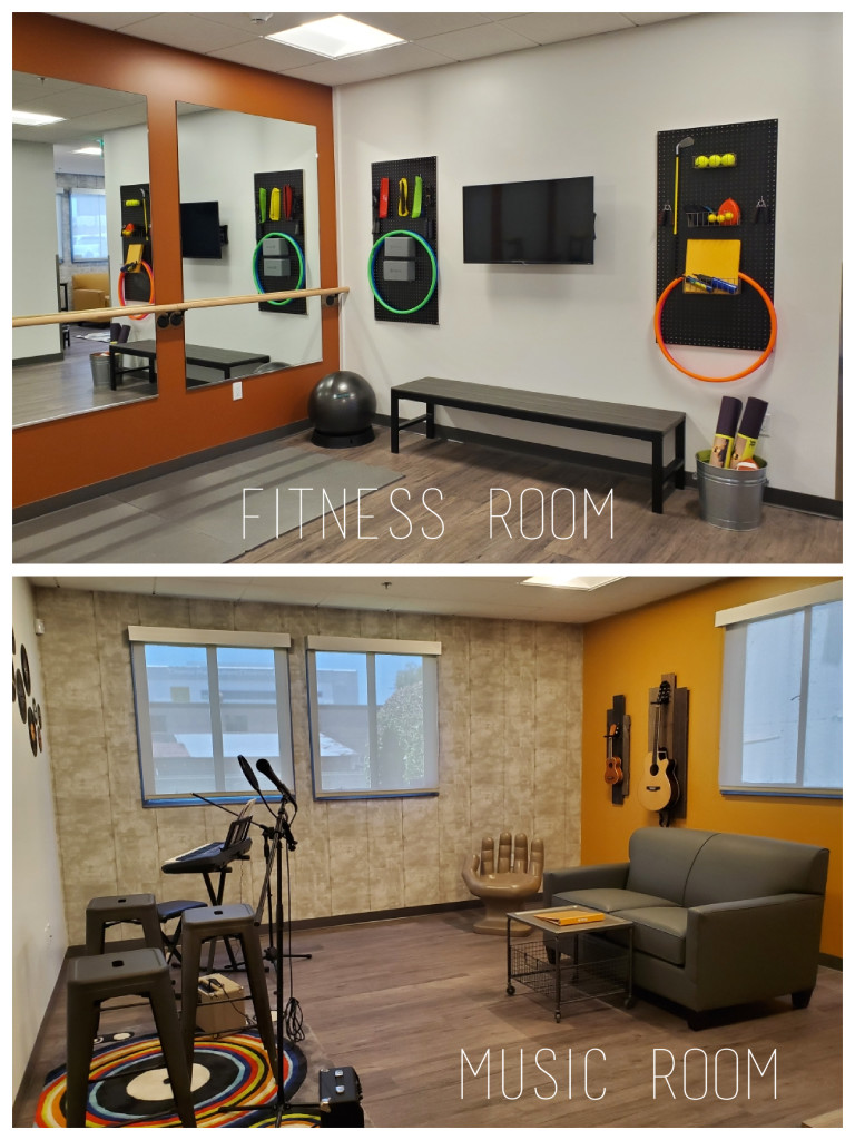 Image: Signal Hill Adult Day Program Fitness &  Music Rooms